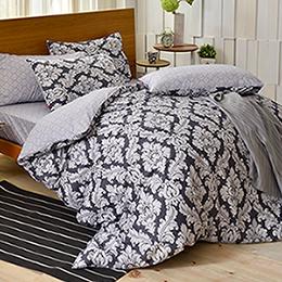 英國Abelia 雙人純棉被套床包組-特羅達爾