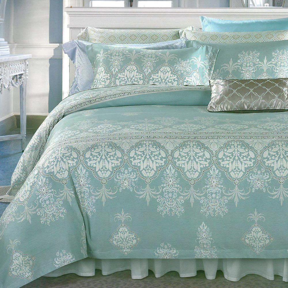 英國Abelia《賽亞風範》加大天絲木漿防蹣抗菌吸濕排汗兩用被床包組