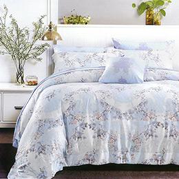 英國Abelia《漫步花海》特大吸濕排汗奧地利天絲兩用被床包組