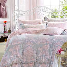 英國Abelia《伊莎貝拉》雙人防蹣抗菌吸濕排汗木漿兩用被床包組