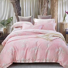 英國Abelia《蕾莉亞》加大防蹣抗菌吸濕排汗木漿兩用被床包組