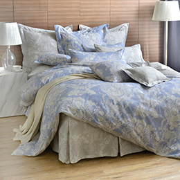 英國Abelia《蘭陵世紀》雙人純棉五件式被套床罩組