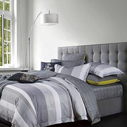 英國Abelia《都市生活》特大吸濕排汗奧地利天絲兩用被床包組