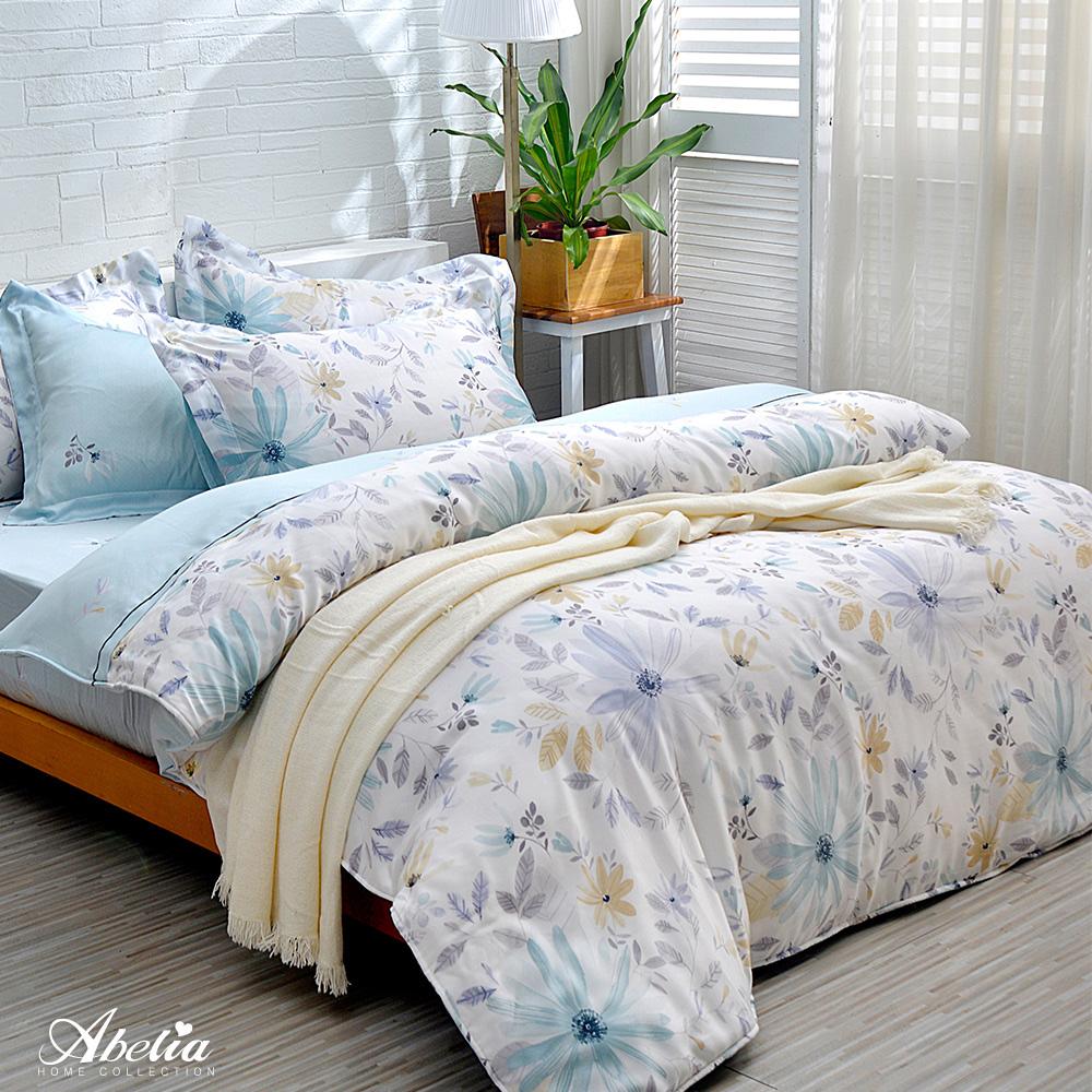 英國Abelia《春氛起舞》加大天絲木漿兩用被床包組