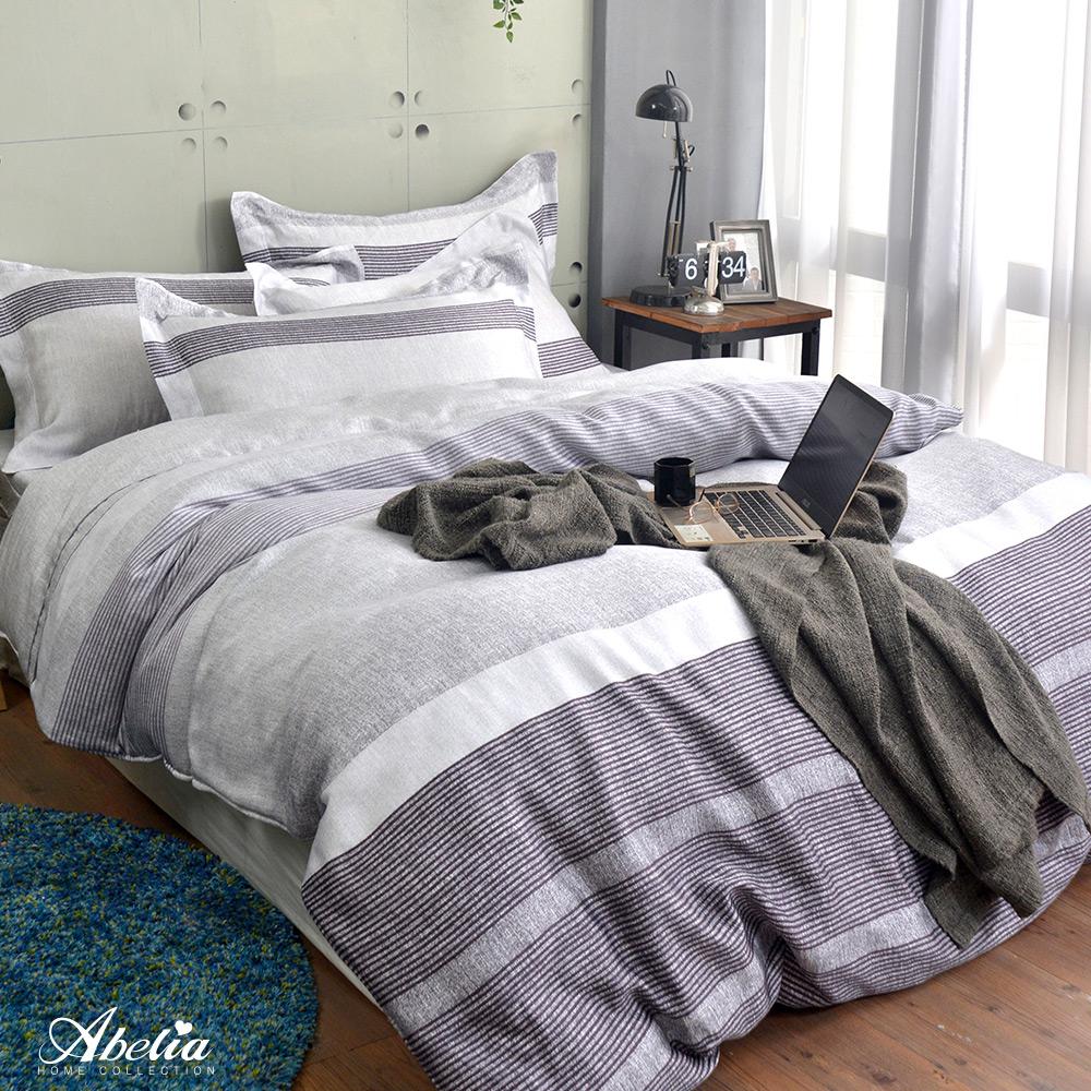 英國Abelia《墨迪克》加大天絲木漿兩用被床包組