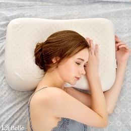 (滿1送1限定) 英國Abelia《仕女型天然透氣乳膠枕》乙入