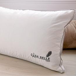 法國Casa Belle《頂級北歐 98/2 羽絨天絲枕》