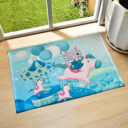義大利Fancy Belle X DreamfulCat 強力吸水止滑地墊-飛吧小木馬
