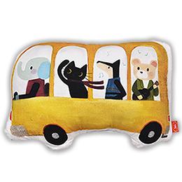 義大利Fancy Belle X Malis 數位造型抱枕 42*31CM-一起郊遊趣