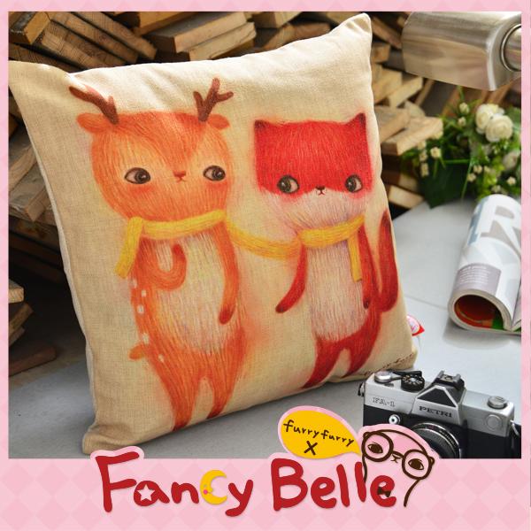 Fancy Belle,抱枕,靠枕