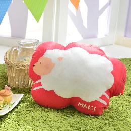 義大利Fancy Belle X Malis 數位造型抱枕 45*36CM-數羊