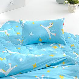 義大利Fancy Belle X Malis《小飛馬》純棉兒童枕套--1入