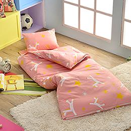 義大利Fancy Belle X Malis 純棉防蹣抗菌兒童睡袋-小飛馬
