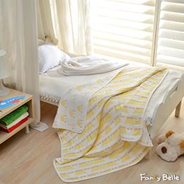 義大利Fancy Belle《童話皇冠》六層紗兒童紗布被(105*110CM)