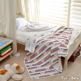 義大利Fancy Belle《搖滾卡通》六層紗兒童紗布被(105*110CM)