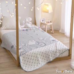 義大利Fancy Belle《趣味夥伴》六層紗兒童紗布被(110*110CM)