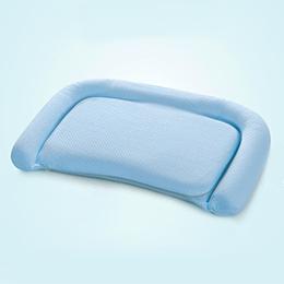 義大利Fancy Belle 多功能舒眠透氣兒童記憶枕-藍-一入