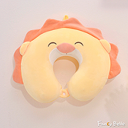義大利Fancy Belle《微笑獅子》造型記憶頸枕