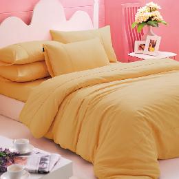義大利La Belle 《前衛素雅》雙人純棉被套床包組