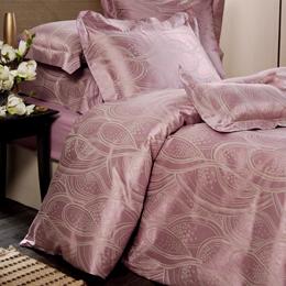 La Belle《華麗幻想》加大四件式 緹花被套床包組