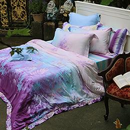 義大利La Belle《璀璨晶艷》加大天絲四件式被套床包組