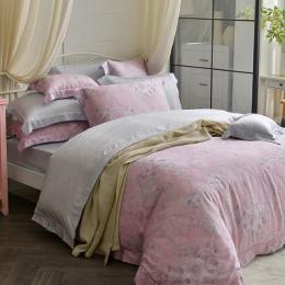 義大利La Belle《艾莎曼》雙人天絲防蹣抗菌吸濕排汗兩用被床包組
