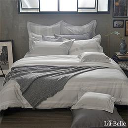 義大利La Belle《北歐之旅》加大純棉防蹣抗菌吸濕排汗兩用被床包組