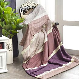 義大利La Belle《爵士風範》純棉吸濕透氣涼被(5x6.5尺)