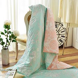 義大利La Belle《花曜滿庭》純棉涼被(5x6.5尺)MIT台灣製