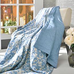 義大利La Belle《蘿蔓印象》純棉涼被(5x6.5尺)