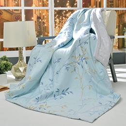 義大利La Belle《雅致絮影》純棉涼被(5x6.5尺)