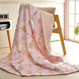 義大利La Belle《香戀薔薇》純棉涼被(5x6.5尺)