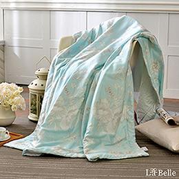 義大利La Belle《冰沁花園》100%天絲涼被(5x6.5尺)