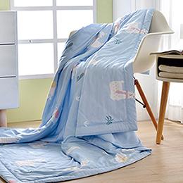 義大利La Belle《草泥馬世界》天然木漿纖維 莫黛爾 涼感 涼被(5x6尺)
