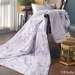 義大利La Belle《葉羽絮影》100%天絲涼被(5x6.5尺)
