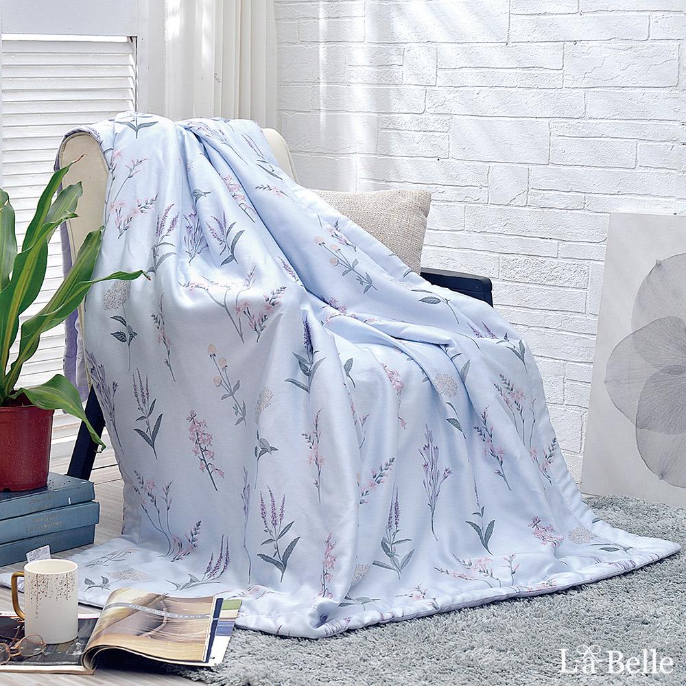 義大利La Belle《夢迴紫宴》100%天絲抗菌涼被(5x6.5尺)