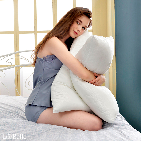 (買一送一限定)義大利La Belle 超細纖維可水洗抑菌極致舒柔枕