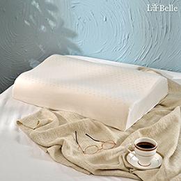 義大利La Belle《斯里蘭卡天然透氣工學舒壓乳膠枕》