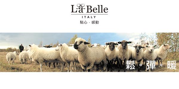 特賣《義大利La Belle》雙人冬被/100%法國羊毛(BLQ17550AD)