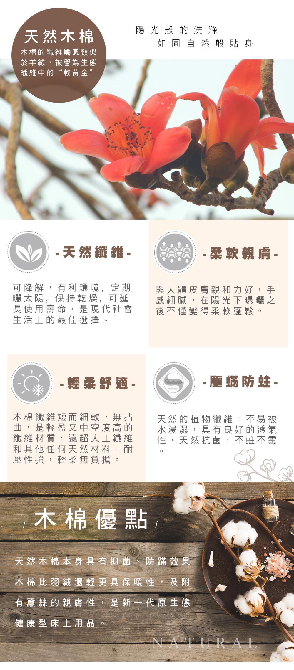 木棉,La Belle,冬被